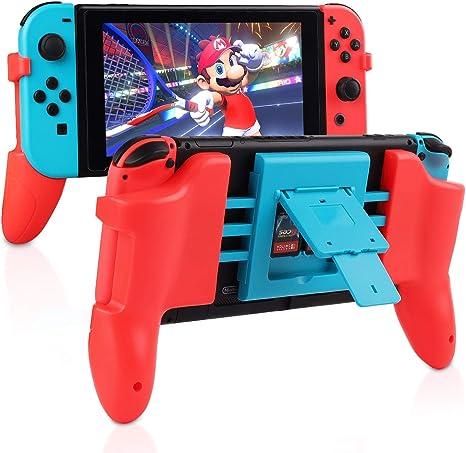 Agarre para Nintendo Switch, tendak cómodo soporte de agarre de ...