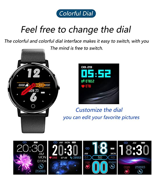 PHIPUDS Smartwatch, Reloj Inteligente Impermeable IP68 con ...