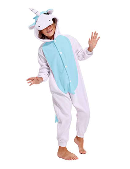 9e83cf2feb Unisex Stars Unicorn Onesie Kids Children Animals Sleepwear Pajamas Cosplay  Christmas Costume