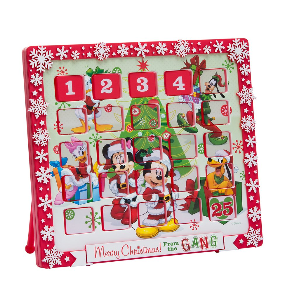 Kurt Adler 9.5'' Mickey Mouse and Friends Advent Calendar