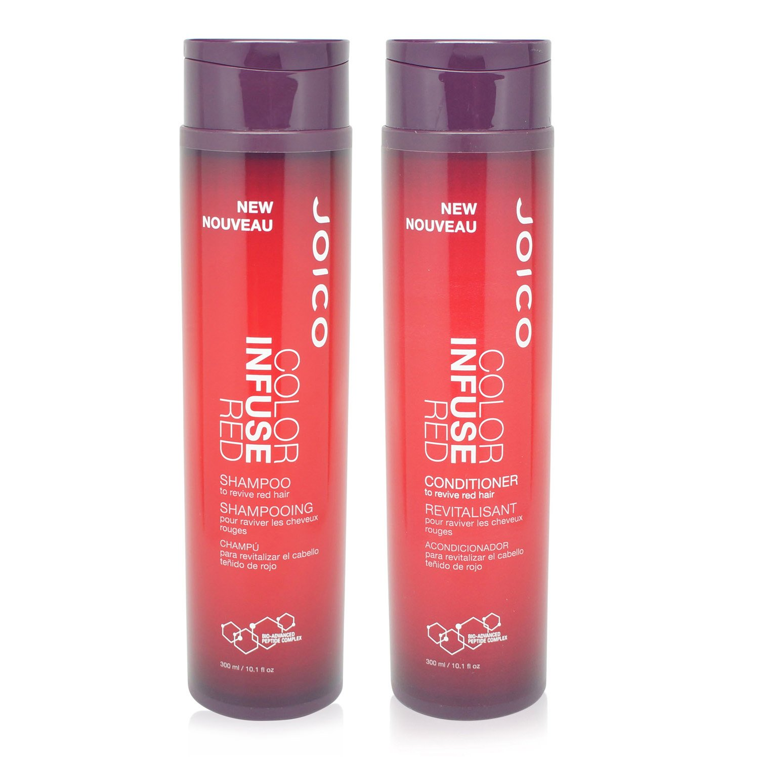 Joico Color Infusem Red Shampoo 10.1 oz & Color Infusem Red Conditioner 10.1 oz DUO