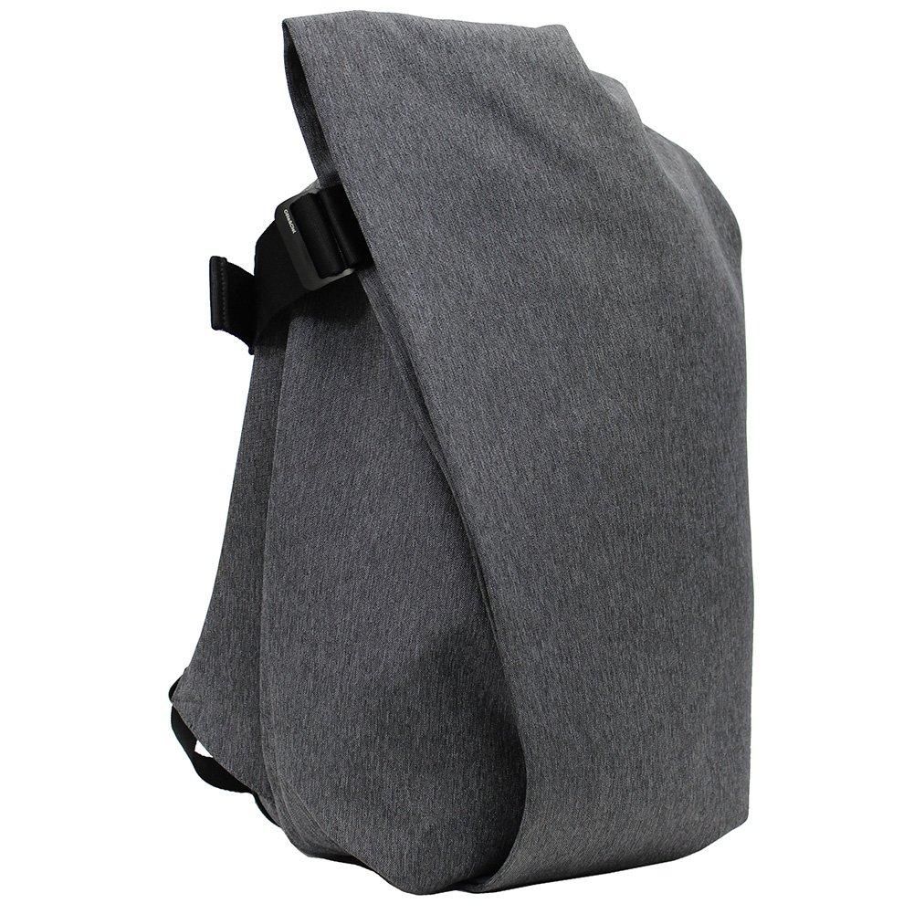 COTE&CIEL/コートエシエル/コートシエル Isar Rucksack L/ラックサック/リュックサック/バックパック/カバン/鞄 メンズ/レディース [並行輸入品] B079KYBZCN Black Melange