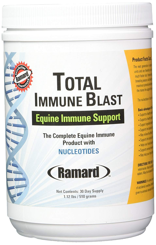 Ramard 079041 Total Immune Blast Supplement for Horses, 1.12 lb/30 Day