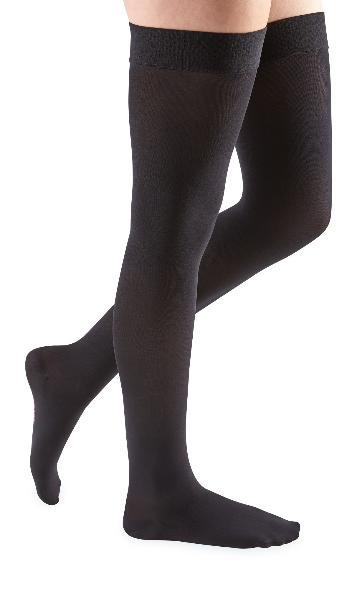 mediven Comfort, 20-30 mmHg, Thigh High Compression Stockings w/Silicone Top-Band, Closed Toe