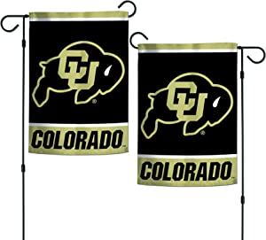 "WinCraft NCAA Colorado Buffaloes 12.5"" x 18"" Inch 2-Sided Garden Flag Logo"