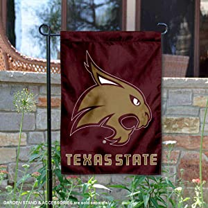 College Flags and Banners Co. Texas State Bobcats Garden Flag