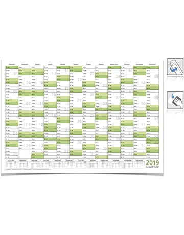 Calendario Scolastico 2020 20 Sicilia.Calendari Da Muro Amazon It