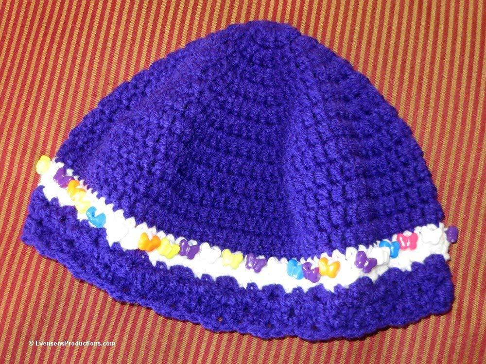 Amazoncom Cloche Hat Chemo Cap 22 24 Inches Fits M L Adult