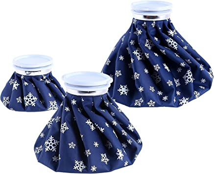 Ohuhu Hot Cold Ice Pack Reusable Ice Bag 3 Pack [11
