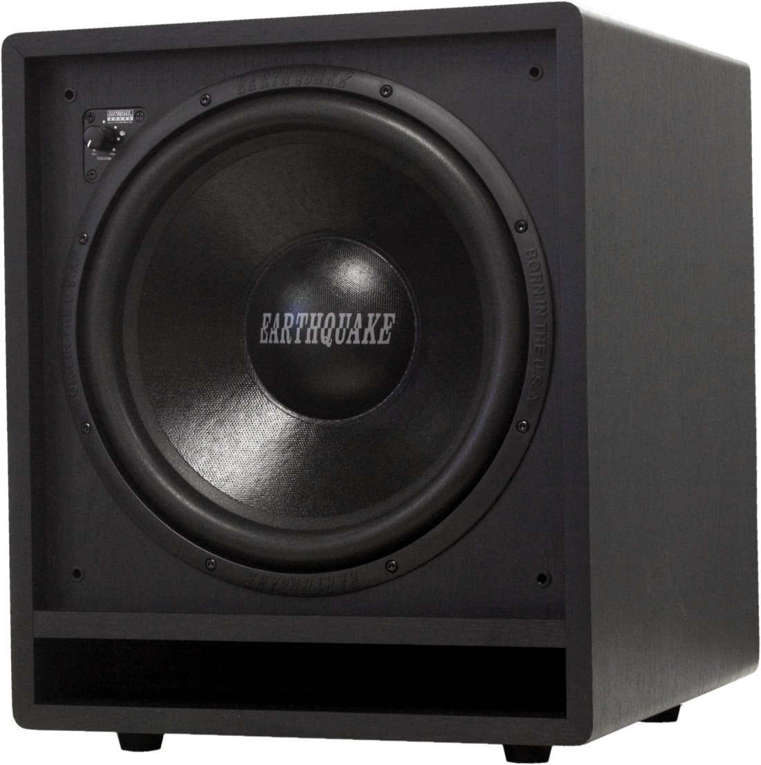 Earthquake Sound FF12 Front Firing Subwoofer (Black, Single)