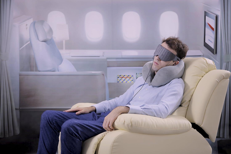 Naptime: Máscara ocular asistente para dormir más rápido e ininterrumpido y despertar más fresco con aplicación iOS / Android: Amazon.es: Electrónica