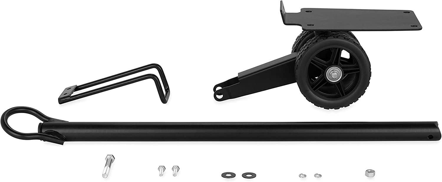 Amazon Com Camco Rv Steerable Wheel Kit For 28 And 36 Gallon Rhino Provides Simple Tote Tank Steering And Transportation Compatible 39004 39006 39011 Automotive