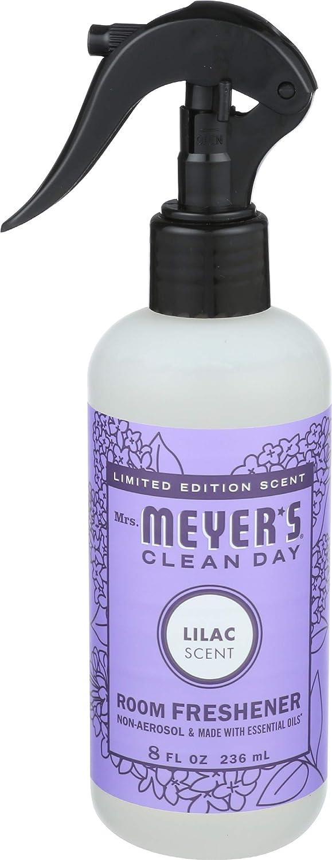 Mrs. Meyer's Clean Day Lilac Trigger Room Freshner, 8 FZ (Pack - 1)