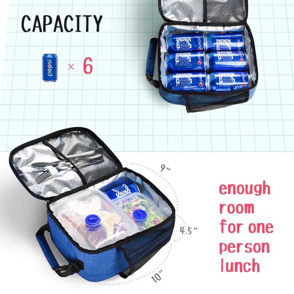 Fox Lunch Box Custom Lunchbox Fox Lunch Bag School Lunch Box Lunch Tote Back To School Personalized Fox Lunch Box BPA Free