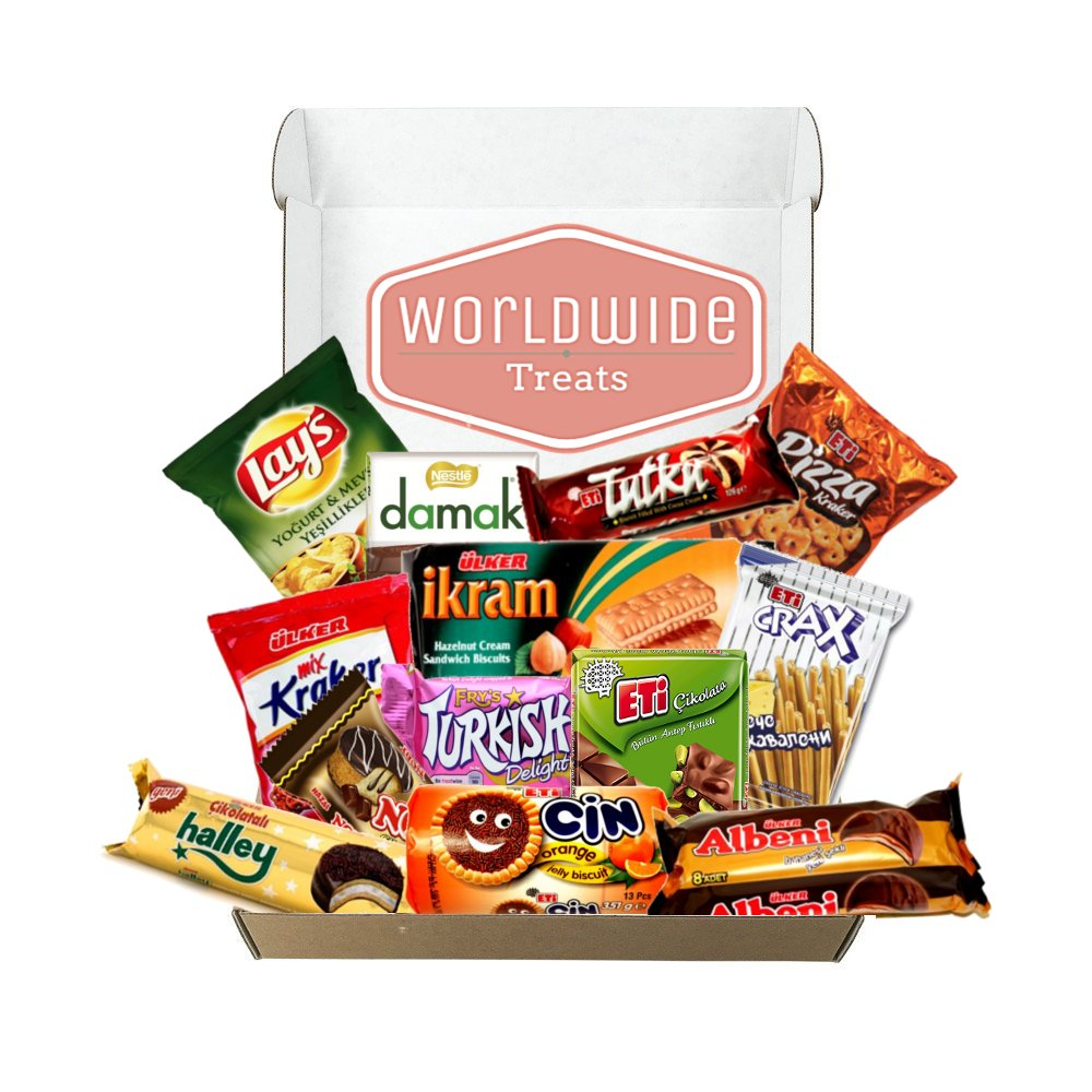 Middle East Snack Mix Package by WorldWideTreats - Snacks from Turkey, Jordan, Israel, Palestine and more by Worldwide Treats (Image #2)