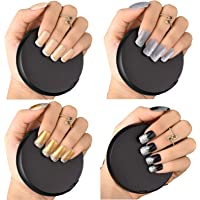 Bonjour Paris False Nails - Quick Stick Artificial Nail Set with Glue - 51% Discount, Pack of 4