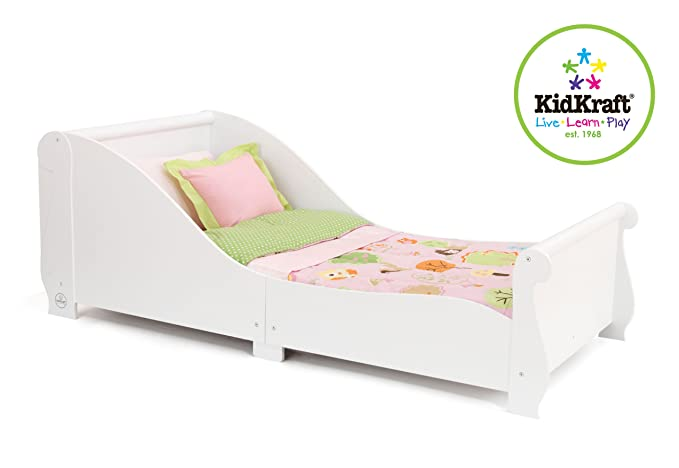 KidKraft Sleigh Toddler Bed