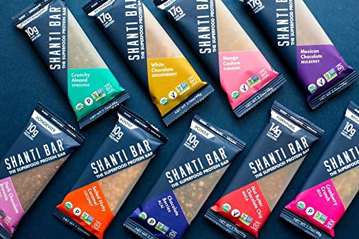 Shanti bar superfood protein bar