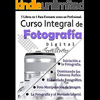 Curso Integral de Fotografía Digital.: 5 Libros en
