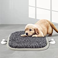 """WUZECAI Snuffle Mat for Dogs, 17"""" x 21"""" Dog Snuffle Mat Interactive Feed Game for Boredom, Encourages Natural Foraging…"""