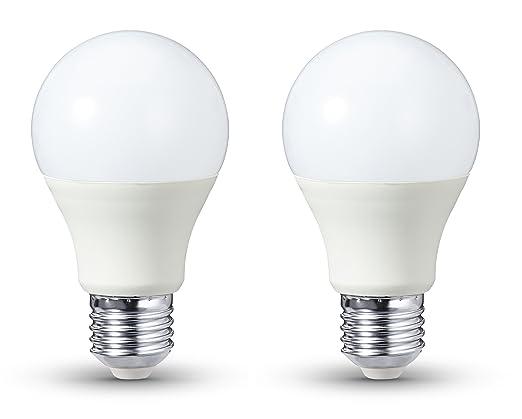 544 opinioni per AmazonBasics- Lampadina LED E27, 9 W a 60 W, 806 lumen, dimmerabile, confezione