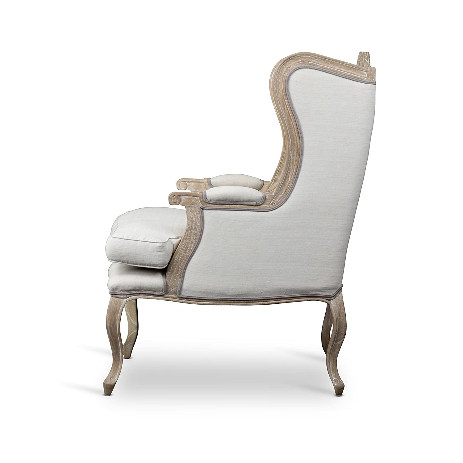 French Country Wing Chair. French Country Furniture Finds. Because European country and French farmhouse style is easy to love. Rustic elegant charm is lovely indeed.