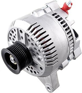 SCITOO Alternators 7791 fit for Ford E150 E250 E350 Expedition 1997-2001 Lincoln Navigator 1998-2000 130A//12V S8 IR IF
