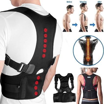 Amazon Com Mejor Fajas Ortopedicas Para Hombres Faja Correctora Posture La Espalda Talla M Health Personal Care