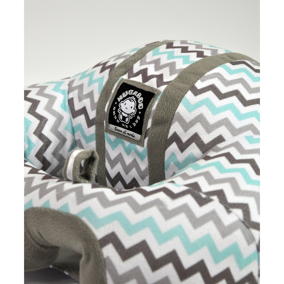 3-10 Months Hugaboo Infant Sitting Chair Snow Leopard//Pink