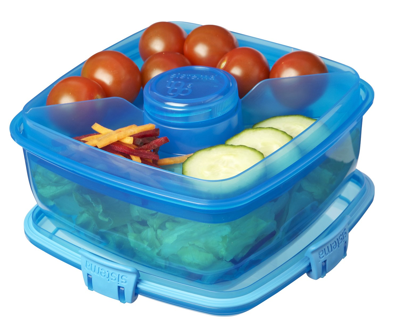 Amazon.com Sistema Klip It 37-Ounce Salad to Go Container Sistema Pink Chill It To Go Container Kitchen u0026 Dining  sc 1 st  Amazon.com & Amazon.com: Sistema Klip It 37-Ounce Salad to Go Container ... Aboutintivar.Com