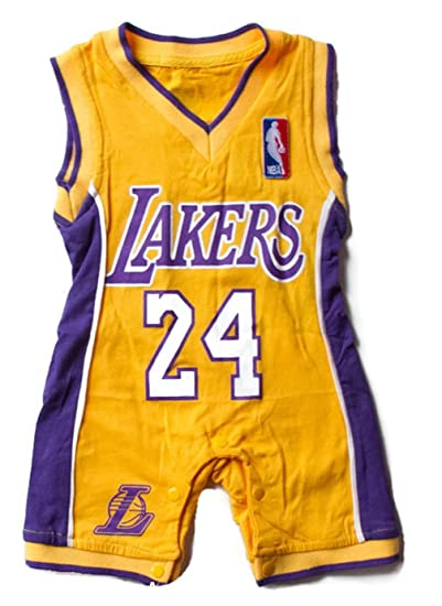 buy popular f4bb1 9ebf6 Lakers Baby Jersey