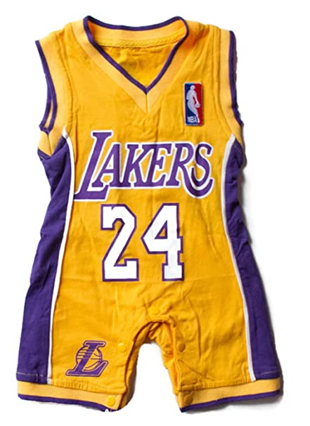 Amazon.com  Lakers Baby Jersey  Clothing 17d6195b87
