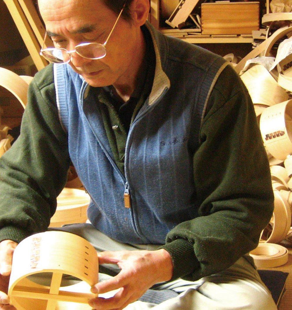 Japanese Cypress Ohitsu (With Rice Paddle)Kitchen Goods Mini