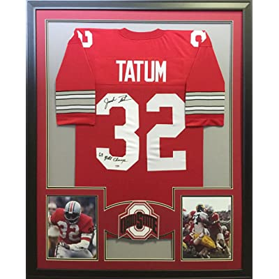 buy online 413e3 276f9 Jack Tatum Framed Jersey Signed PSA/DNA Autographed Ohio ...