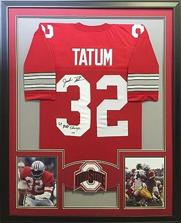finest selection 0ce9c cc84a Jack Tatum Ohio State Buckeyes Autograph Signed Custom ...