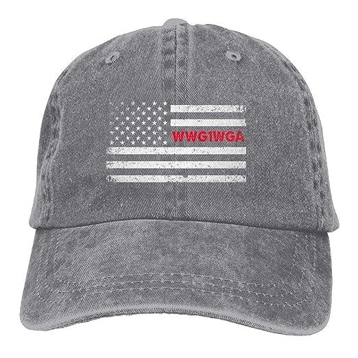 BETARISE Qanon WWG1WGA USA Q Baseball Cap Dad Hat Adjustable Hat Visor Hats 7dd9c4af370