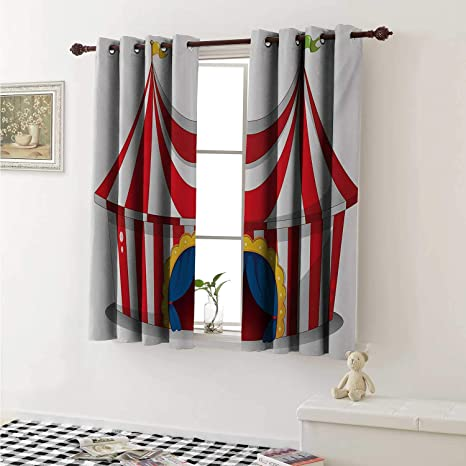 Magnificent Amazon Com Shenglv Circus Customized Curtains Illustration Download Free Architecture Designs Grimeyleaguecom