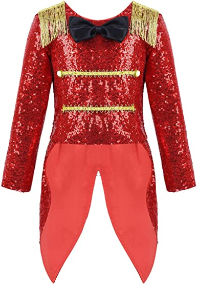 Toddler Kids Girl Ringmaster Circus Costume Party Fancy Dress Up Halloween Cloth