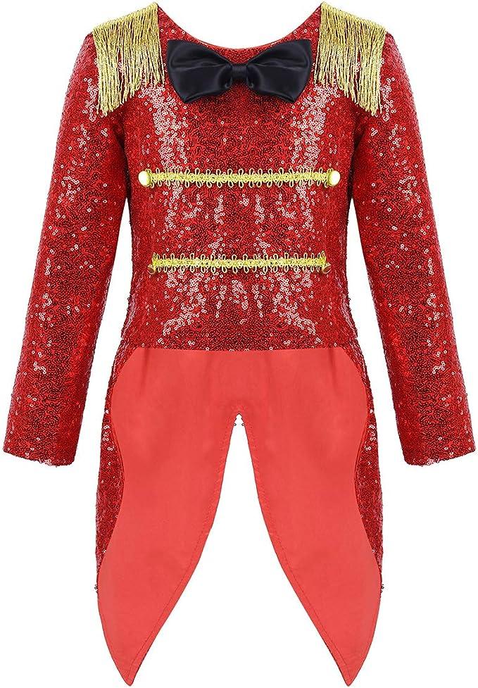 Amazon.com: iiniim Ringmaster Circus - Disfraz infantil de ...