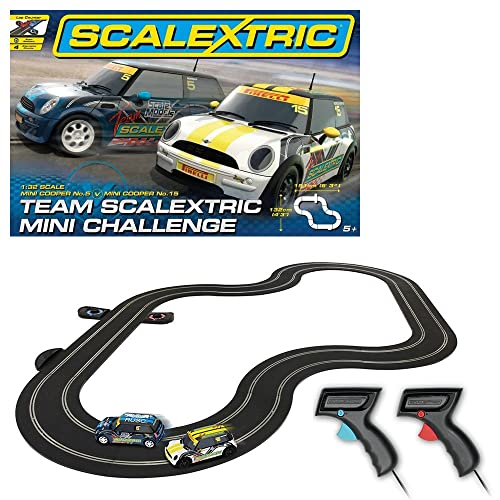Scalextric 1:32 Scale Mini Challenge Race Set