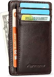 Sweepstakes: Wallets for Men Front Pocket Minimalist RFID Blocking Slim...