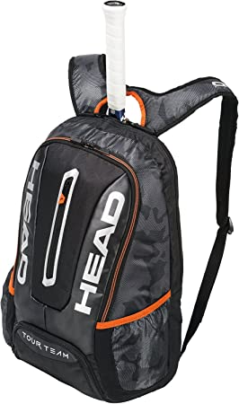 39ab5cb746 HEAD Sac à Dos Tennis Tour Team Backp Mixte Adulte, Noir/Silver, Taille