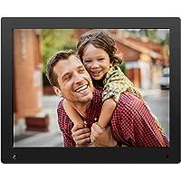 NIX Advance - Cadre numérique 15 Pouces écran Large pour Photos et vidéos HD (720p) avec capteur de Mouvement. Noir. X15D