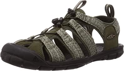 KEEN Men's Clearwater CNX Water Shoe, Forest Night/Black