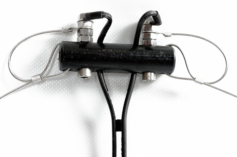 Bidatong Multibandipol según ZS6BKW -{80} - 10 Meter - 300 Ohm feeder