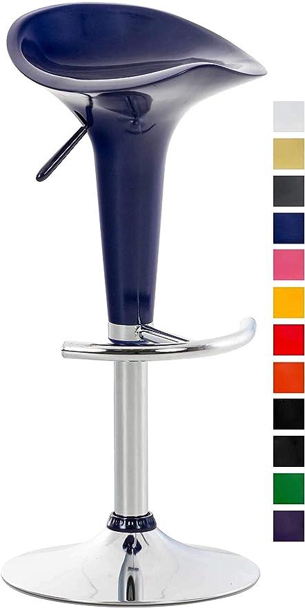 Clp Tabouret De Bar Design Saddle I Chaise Haute Avec Assise En