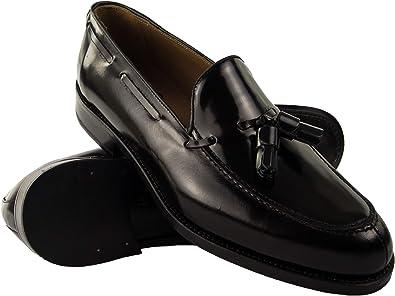 Zerimar Zapatos Castellanos Hombre | Mocasin Antifaz Hombre | Mocasin con Borlas para Hombre | Fabricados en España
