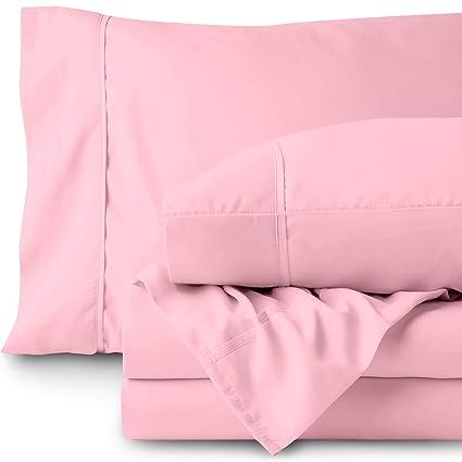 Amazoncom Bare Home Twin Xl Sheet Set College Dorm Size