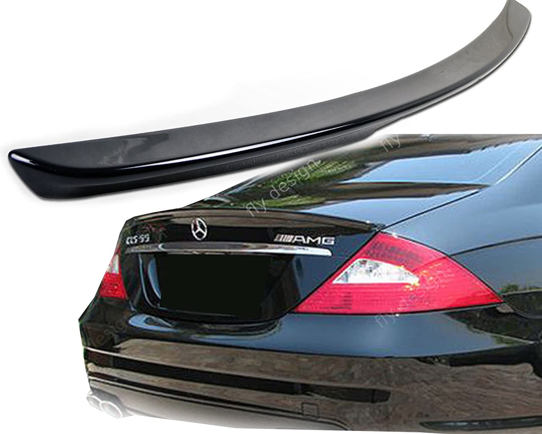 Car-Tuning24 52991828 wie AMG CLS C219 500 350 ABS HECKSPOILER HECKFL/ÜGEL AMG Stil Type A Schwarz