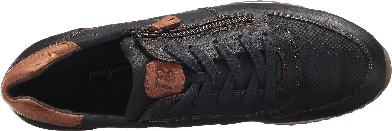 Paul Green Womens Sandy Sneaker B077MG3XTH Leather 5.5 B(M) US|Ocean Cuoio Leather B077MG3XTH 2ecfd0